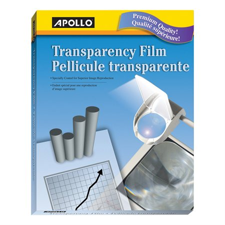 Transparency Film for Copiers