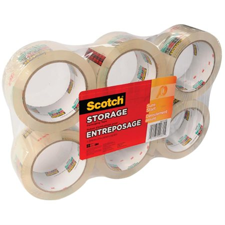 Scotch® 3620 Storage Packaging Tape