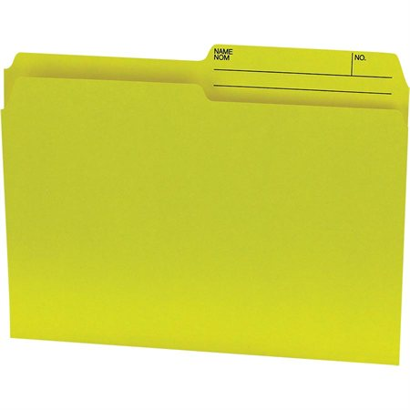 Offix® Reversible Coloured File Folders