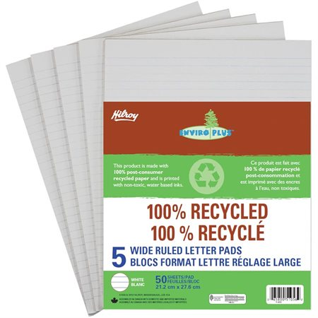 Enviro Plus™ Recycled Paper Pad
