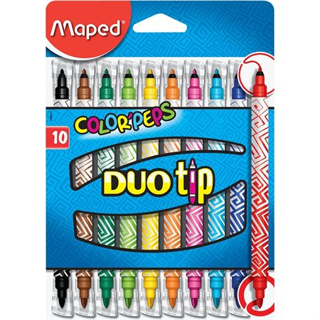 Marqueurs Color'Peps Duo Tip