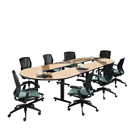 Connectable Racetrack Conference Table