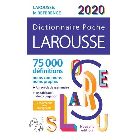 Larousse poche 2020 Dictionary