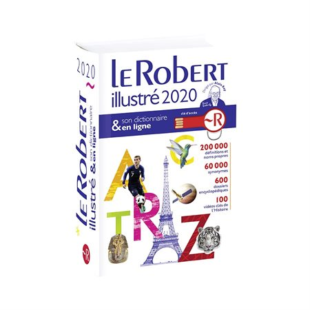Dictionnaire Le Robert illustré 2019