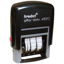 Printy Dater 4820 Automatic Self-Inking Dater