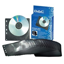 Double Sided CD / DVD Pocket