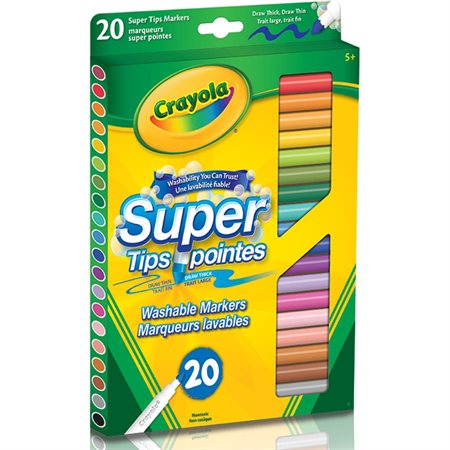 Super Tips Colouring Markers