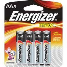 Max Alkaline Batteries